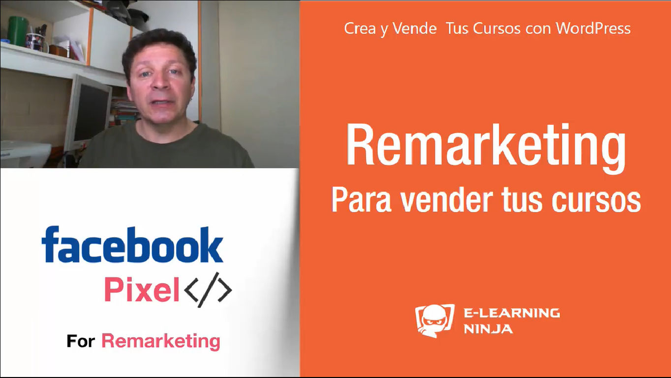 Remarketing en Facebook para vender tus Cursos en Piloto Automático