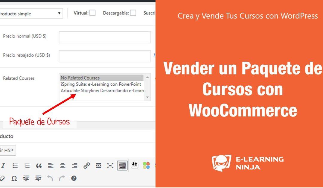 Vender un Paquete de Cursos de LearnDash con WooCommerce